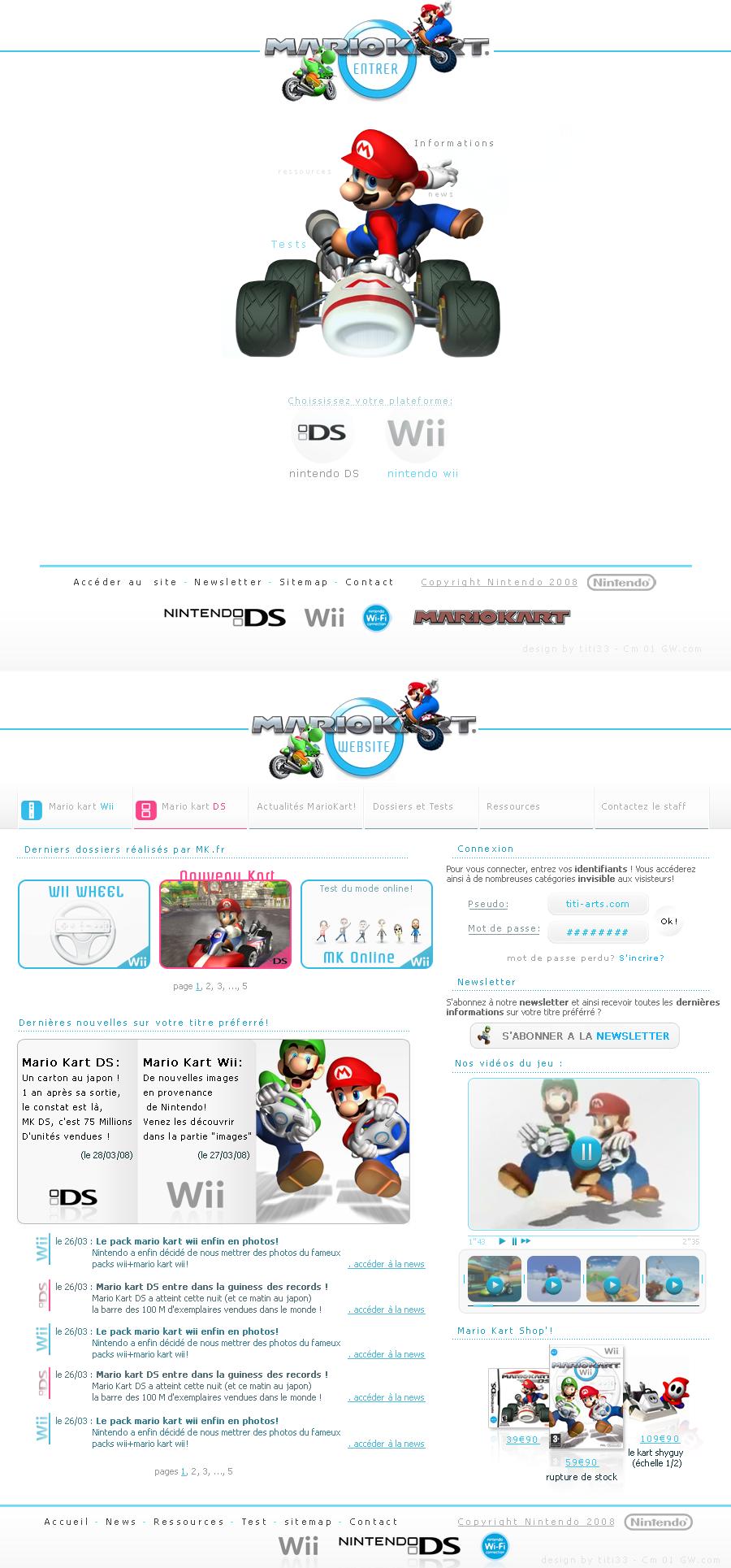 Mario Kart v2 by titi-arts