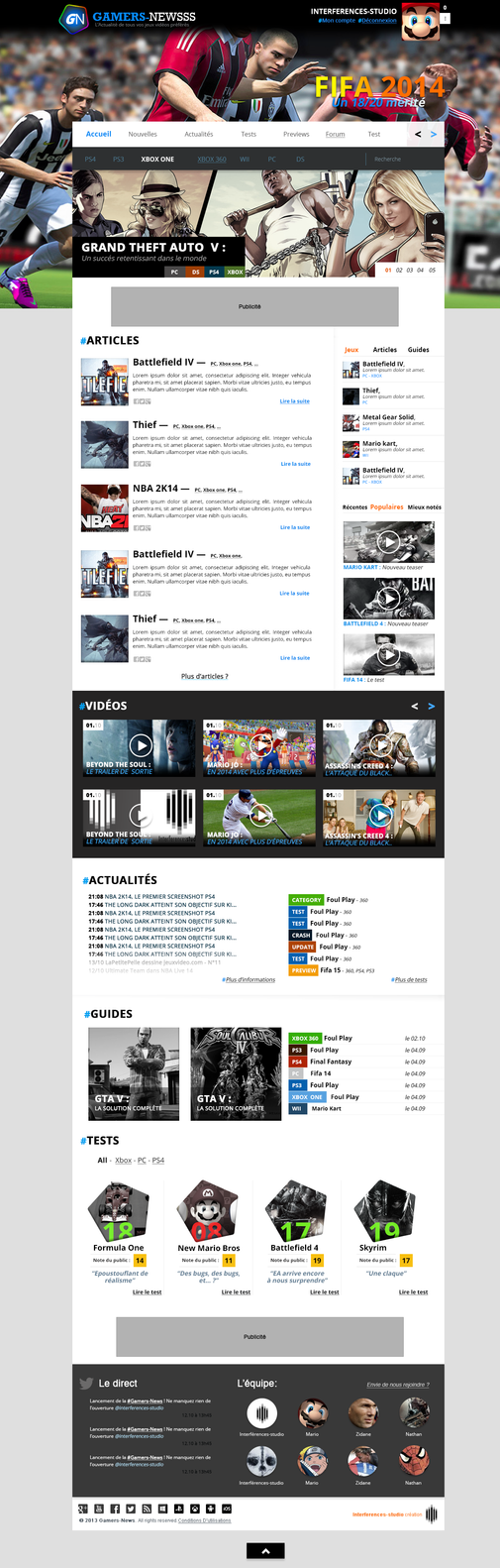 Gamers-News (For sale) by titi-arts