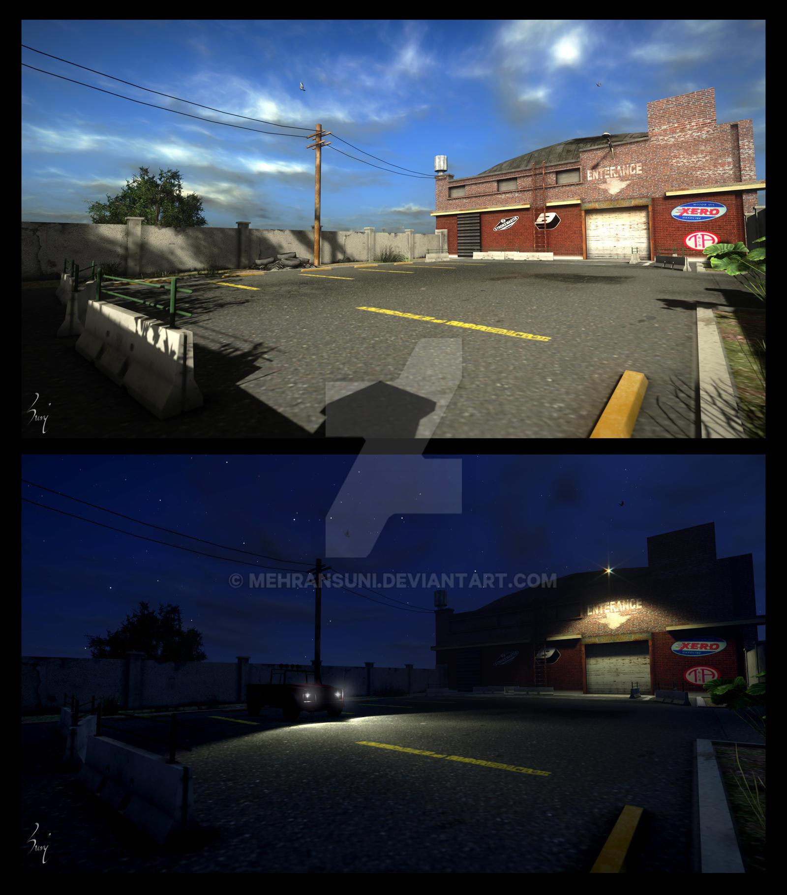 Gta 5 Garage: GTA V (Fanart)-Franklin Garage- By MehranSuni On DeviantArt