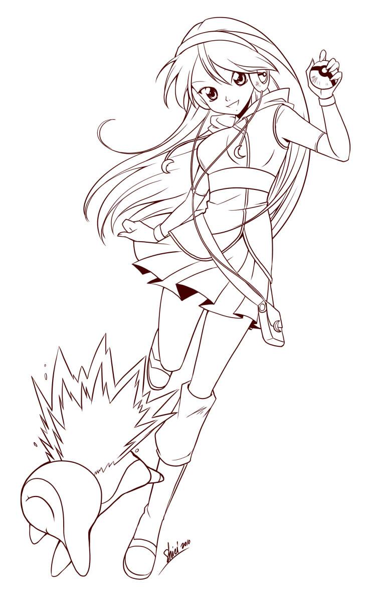 Commission: Pokemon Trainer by nekoshiei on DeviantArt