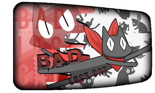 Monse Bad Luck cat Firma by DarkTheocracy