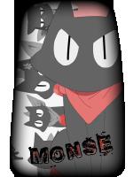 Monse Bad Luck Cat icon by DarkTheocracy