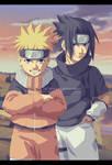 Naruto and Sasuke - together forever!