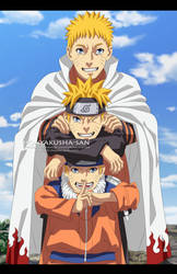 Triple Naruto - the 2nd version by HonYakusha-san