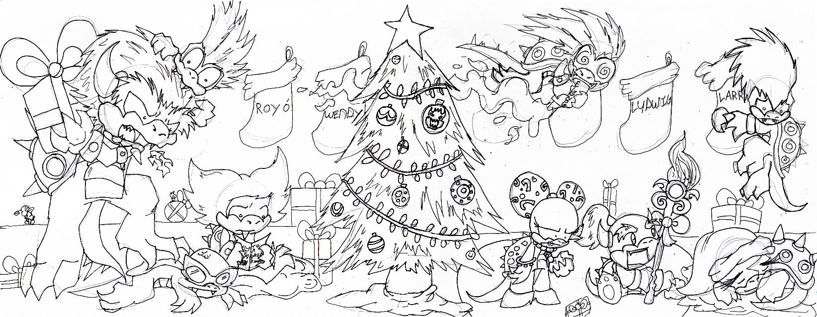 Merry Christmas Koopa Kids By Metamorro