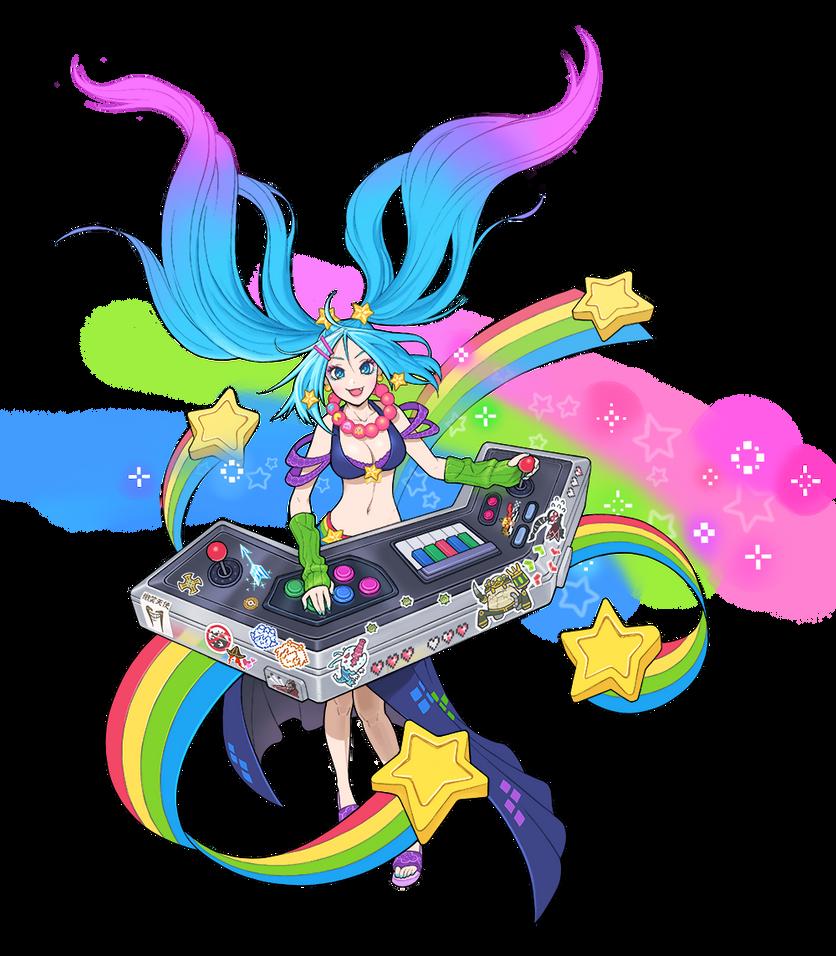 Arcade Sona by harapeko