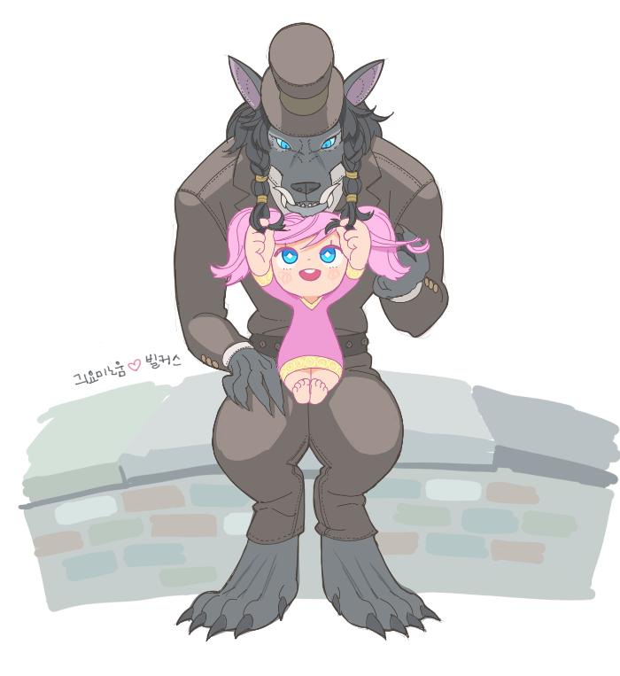 worgen + gnome by harapeko