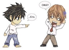 L And Light and Light (Death Note) by XxBakumanxX on DeviantArt