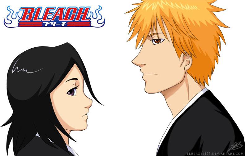 ichigo and rukia kiss - photo #26