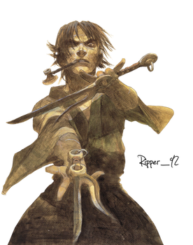 Blade of the immortal vol7 render