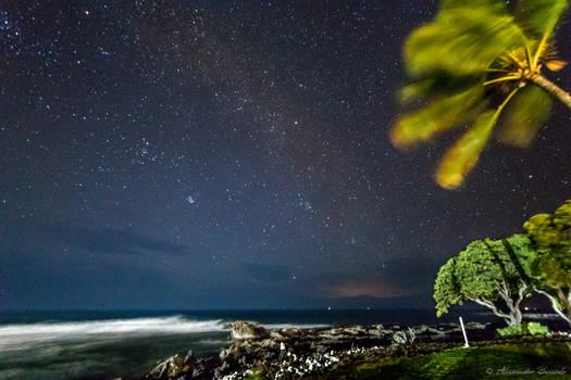 Hawaiian night sky
