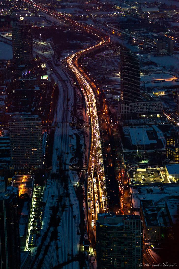 Toronto by night 3