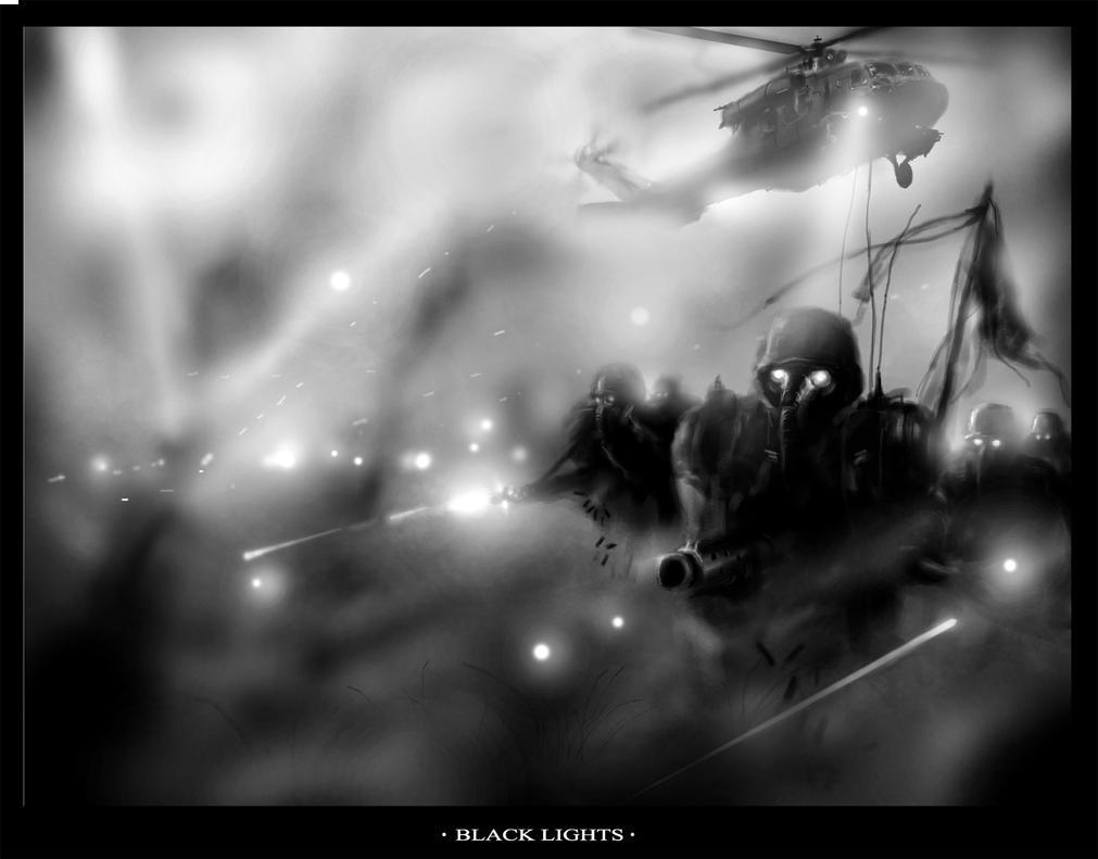 Black Lights by Makua