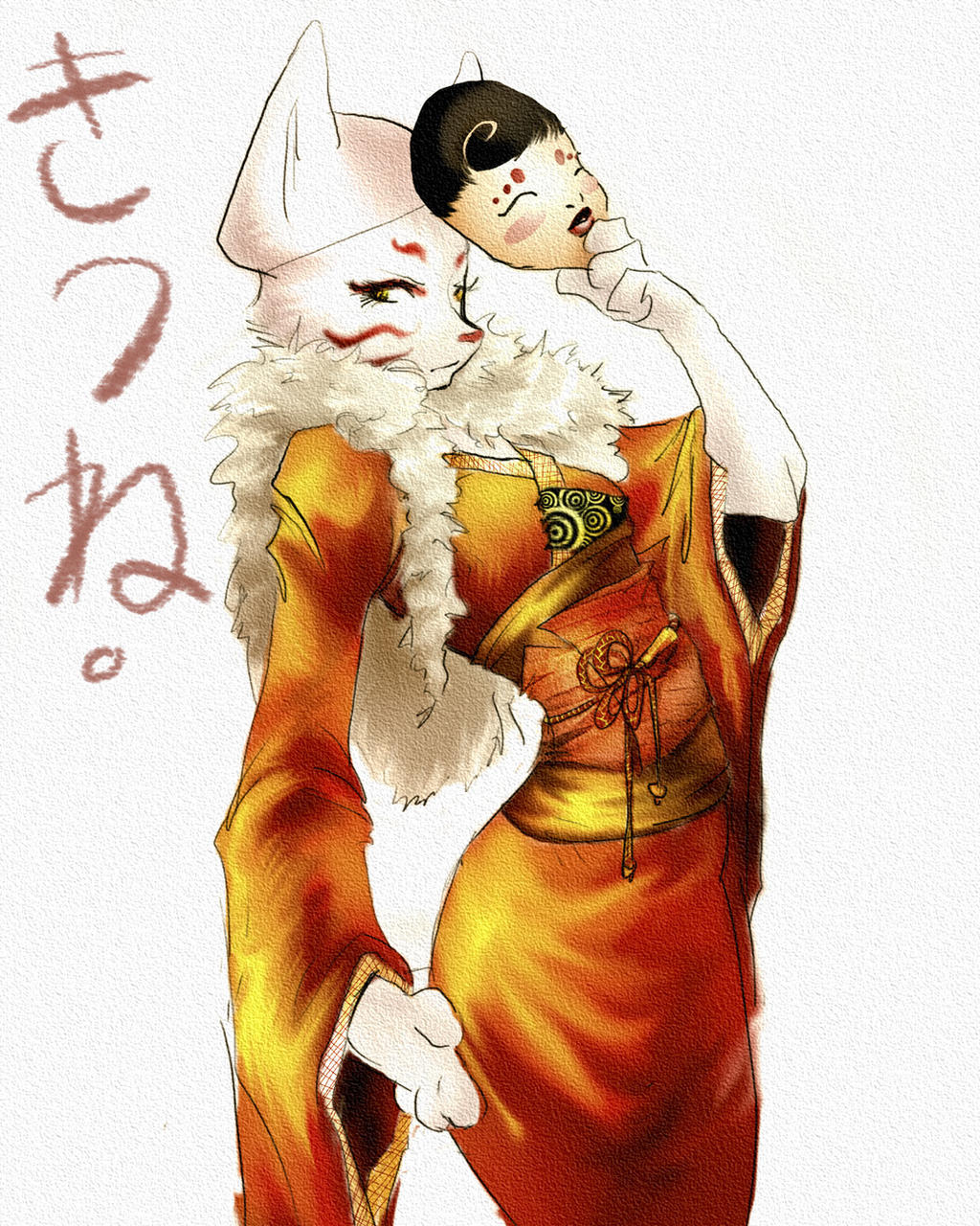 Kitsune by Pechan on DeviantArt