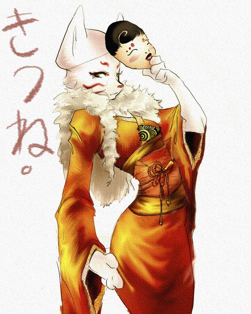 Kitsune by Pechan