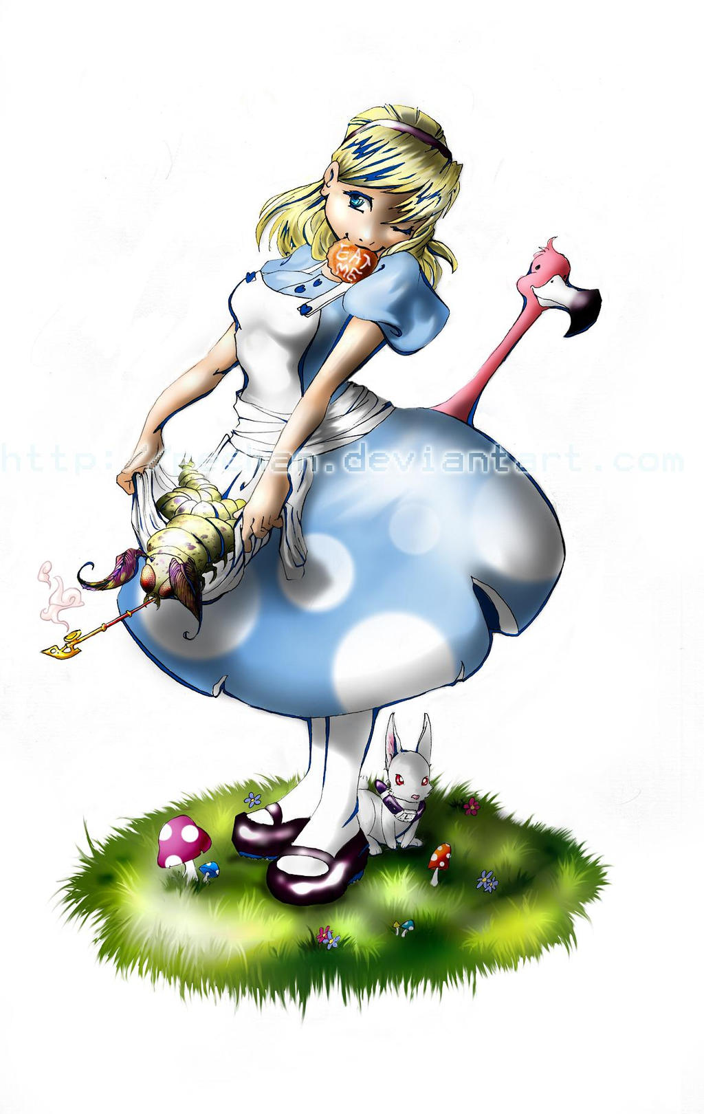 Alice is Wonderland by Pechan