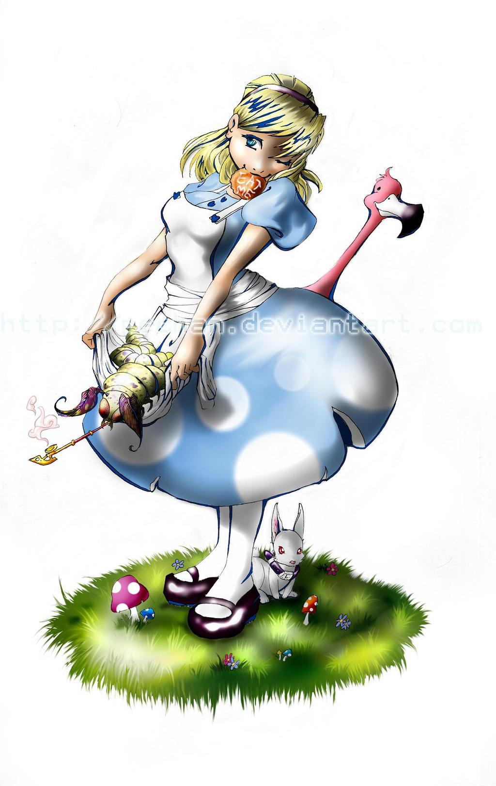 Alice is Wonderland by Pechan
