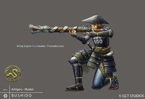 Musket Ashigaru by Pechan