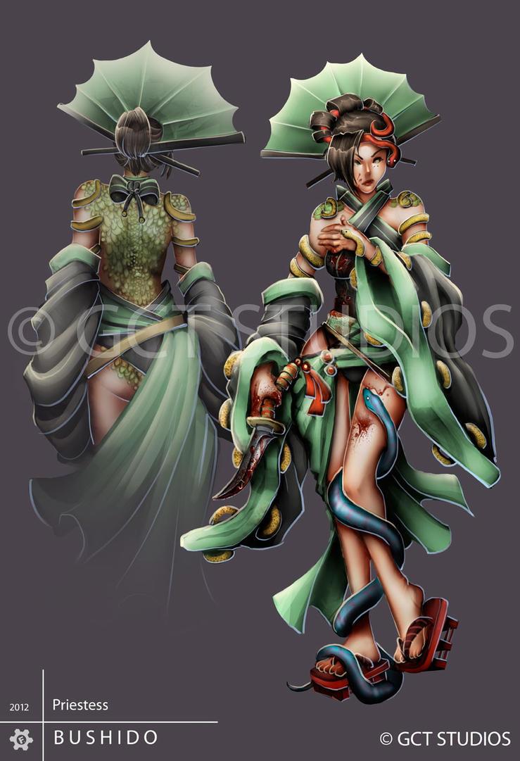 Ito Priestess by Pechan