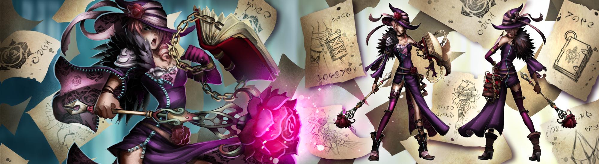 Violet Grimoire by Pechan