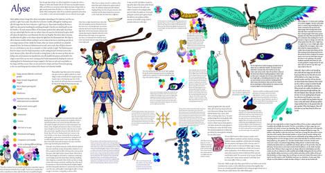 Alyse the Genetic Hybrid Human
