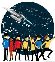 Star Trek - Go Boldly by EndofaCentury