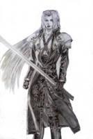 Sephiroth by kittykat27