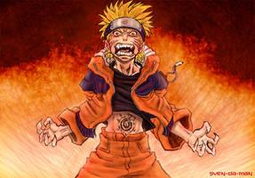 Kyuubi Naruto by svenstoffels