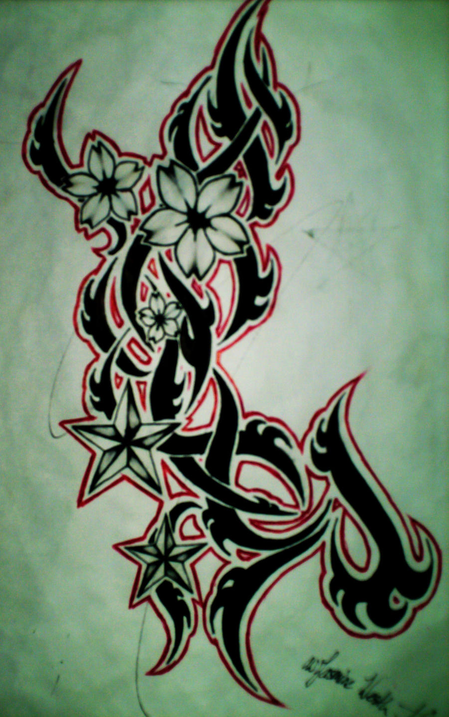 Sakura Tattoo Design 1 by