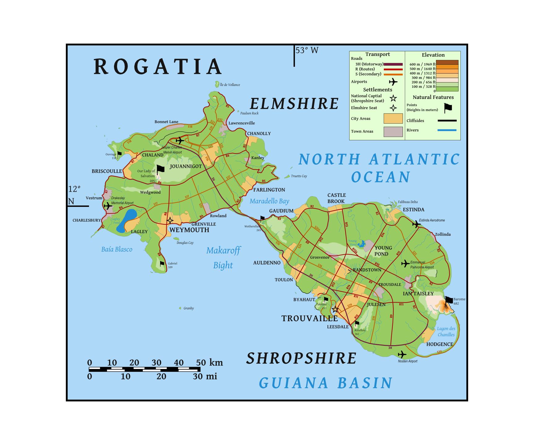 Rogatia: A Drop in the Ocean by dcjc