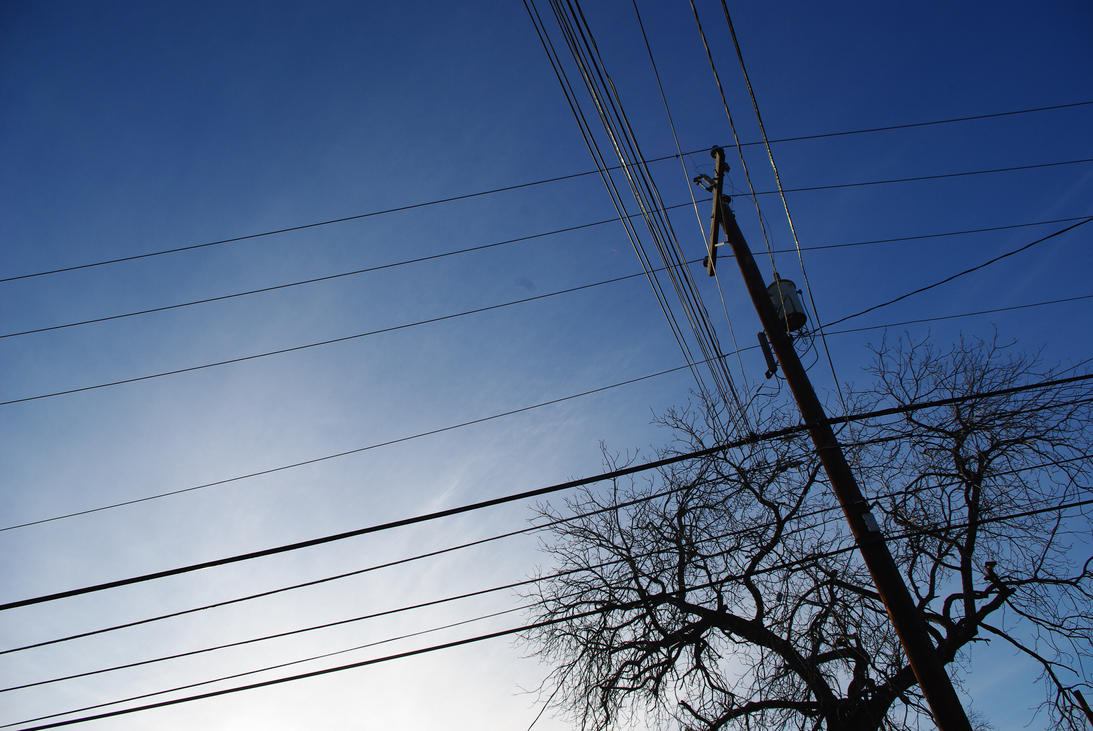 Phone Wires, Organic Spires II by PopDavid on DeviantArt