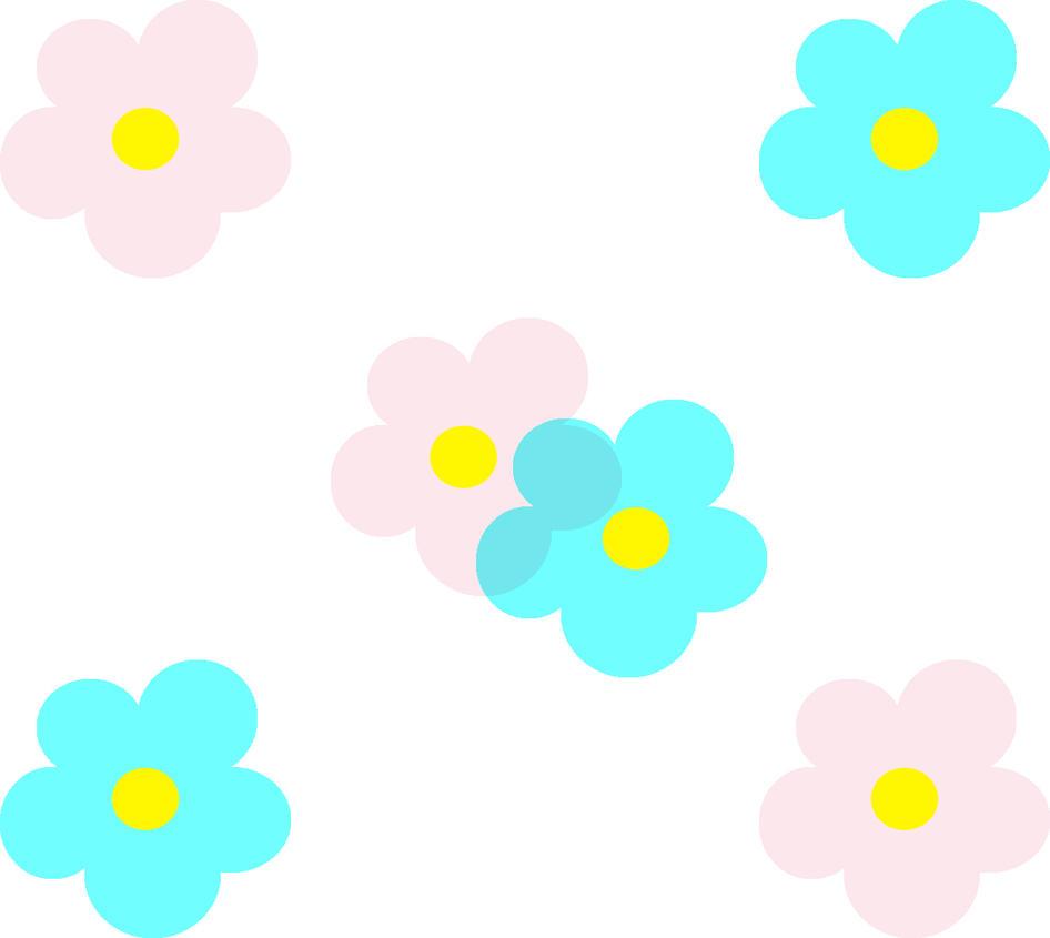 Simple Flower Design 2 by PopDavid