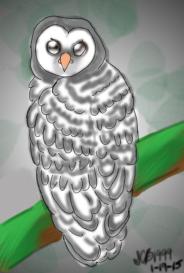 Owl by ScarletCB1999