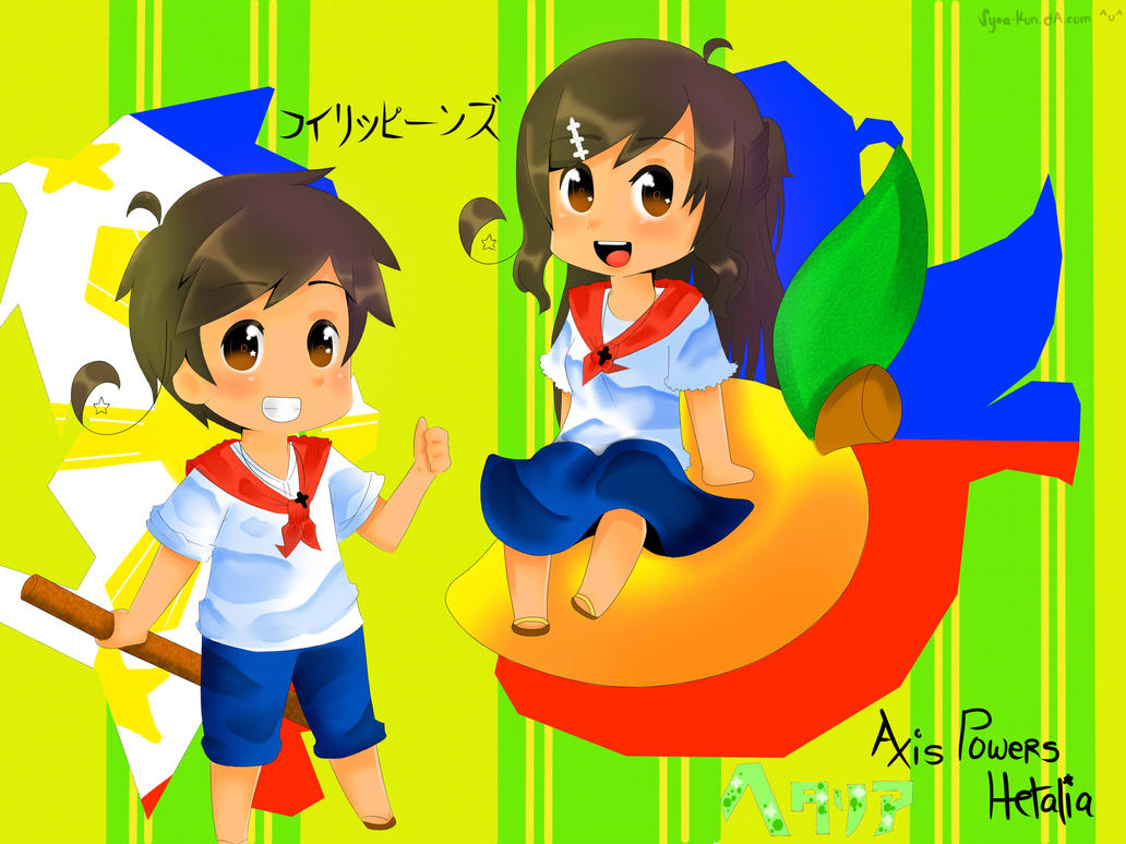 APH[Philippines]: Mango Parade by Syoa-Kun