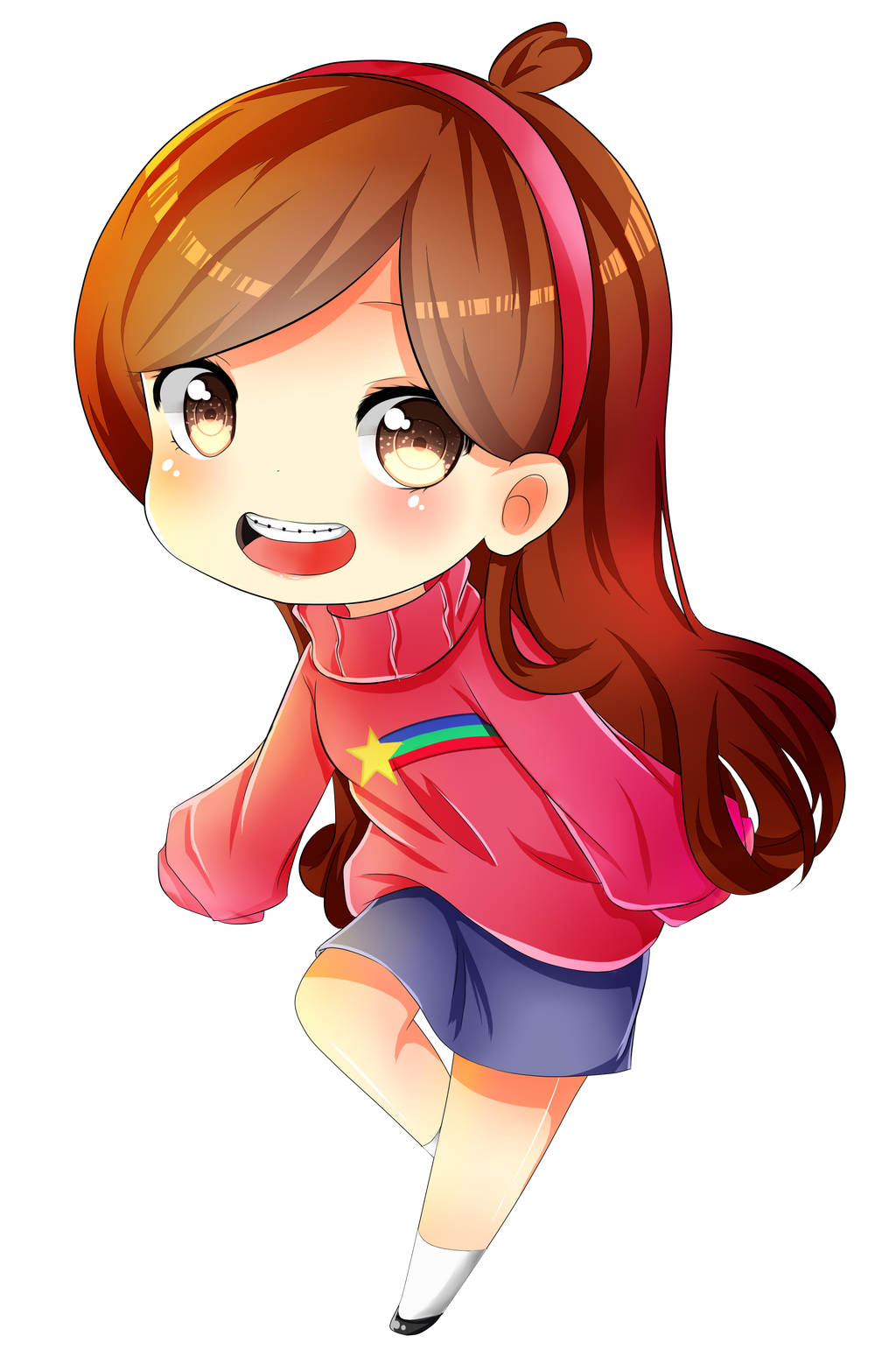 Chibi Mabel Pines By Syoa Kun On Deviantart