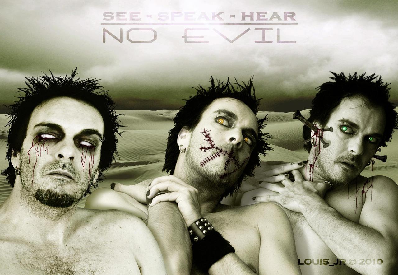See-Speak-Hear No evil