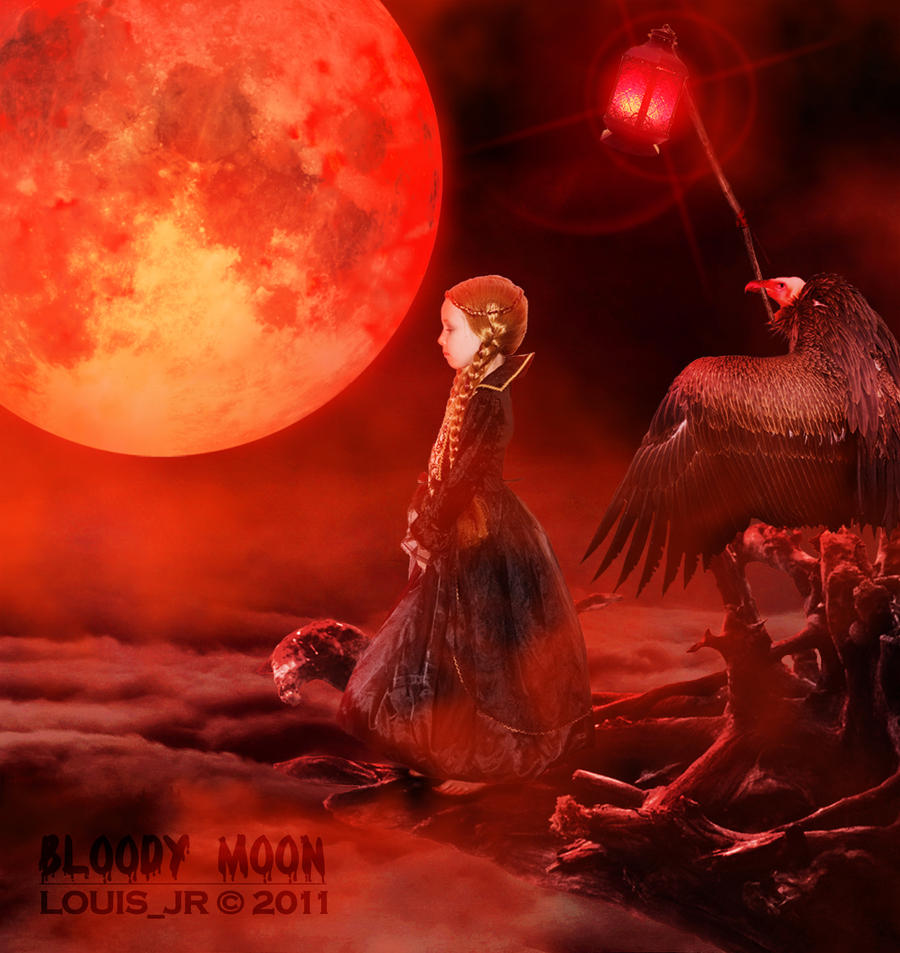 Bloody Moon by Louis-Jr