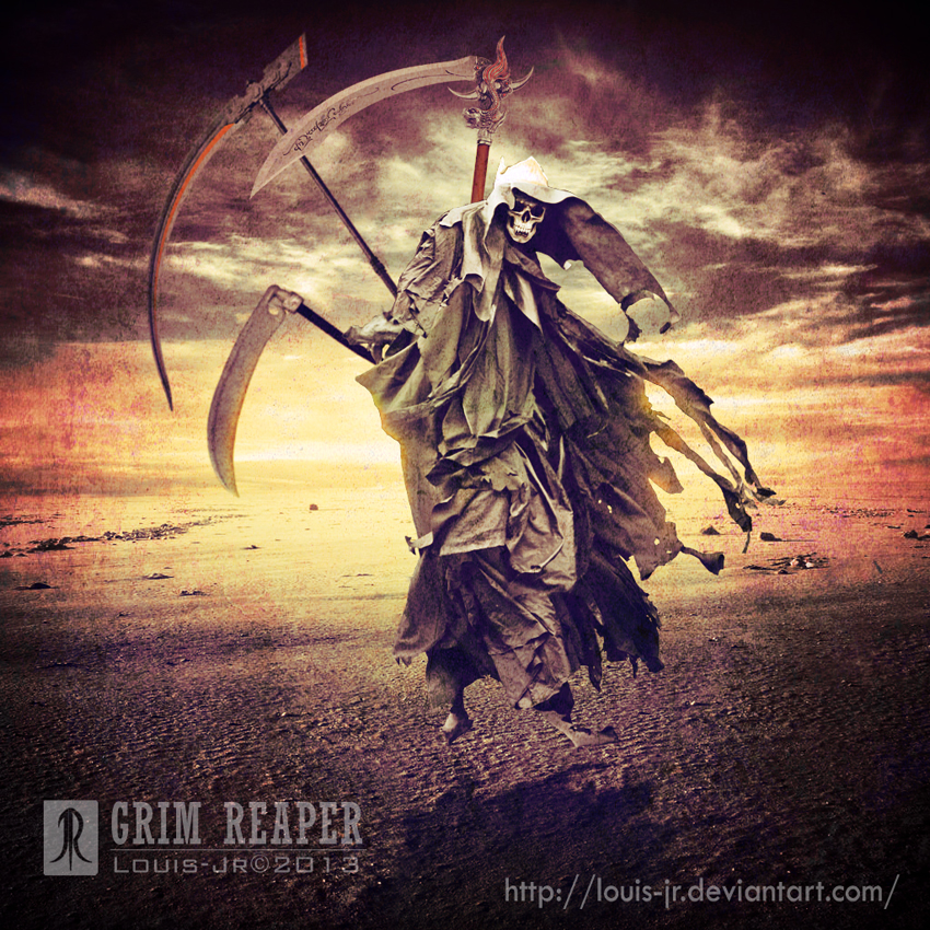 Grim Reaper by Louis-Jr