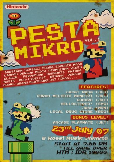 Pesta Mikro Flyer by ricoweirdo