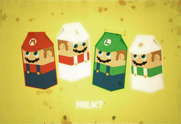 super milk bros by ricoweirdo