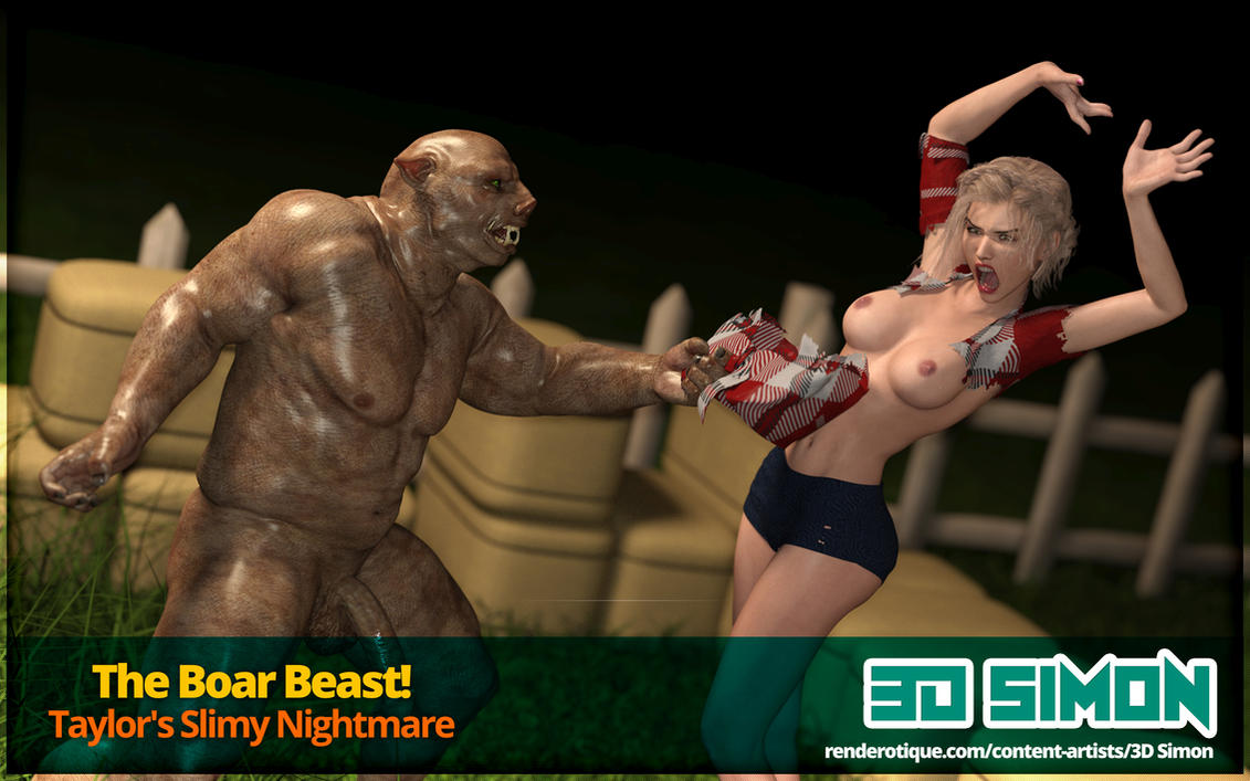 The Boar Beast! - My new comic series by 3dsimon