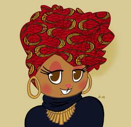 I being black, I love my culture by LiLLi-ViLLa