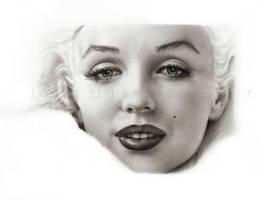 Marilyn Monroe close-up