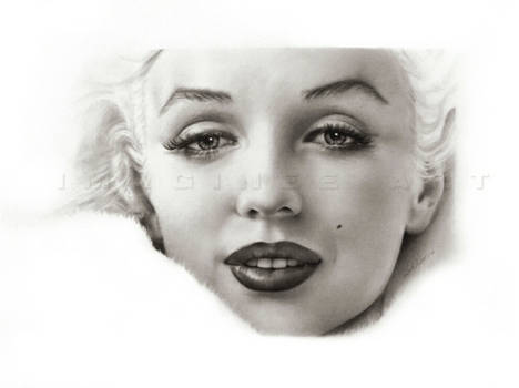 Marilyn Monroe close-up