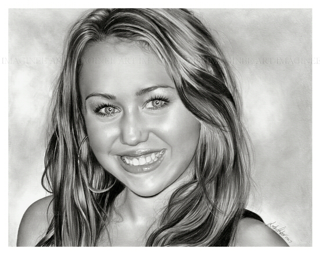 Miley Cyrus by imaginee