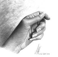 Hand Study by imaginee