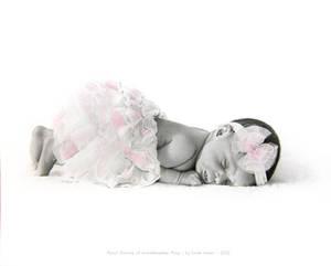 Portrait of Granddaughter Riley Huber