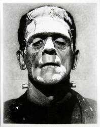 Frankenstein's monster by Linda Huber by imaginee