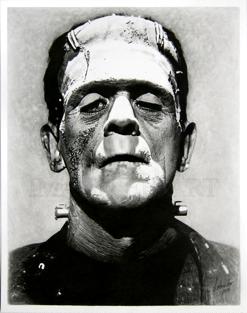 Frankenstein's monster by Linda Huber by imaginee