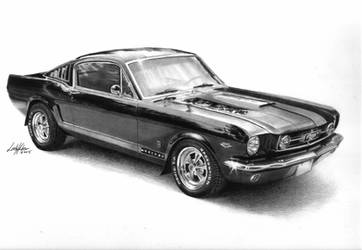 1965 Mustang Fastback by imaginee